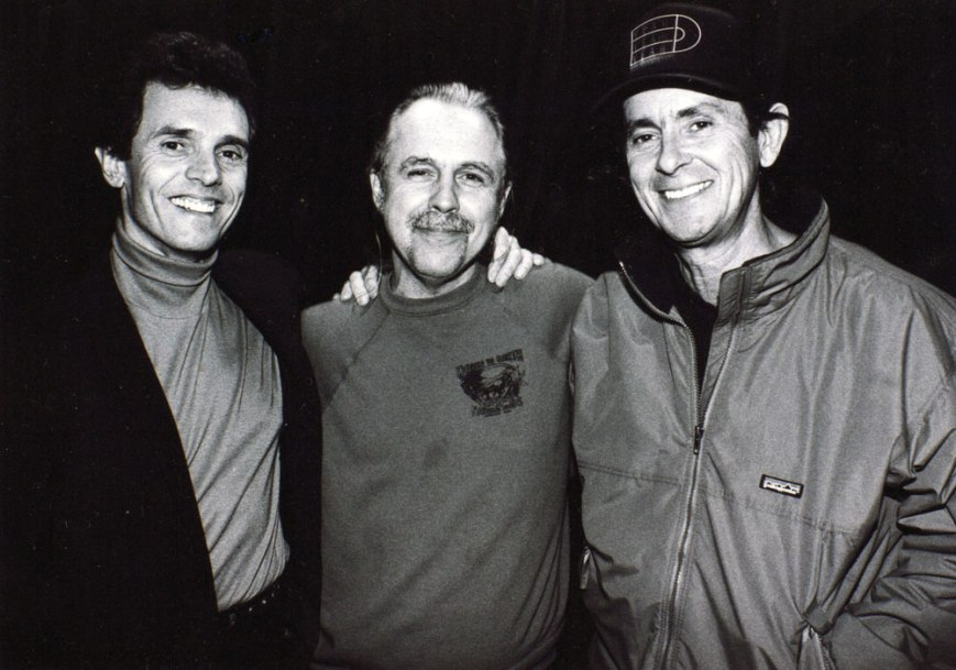 Iain Matthews, Steve Young, Bob Neuwirth.